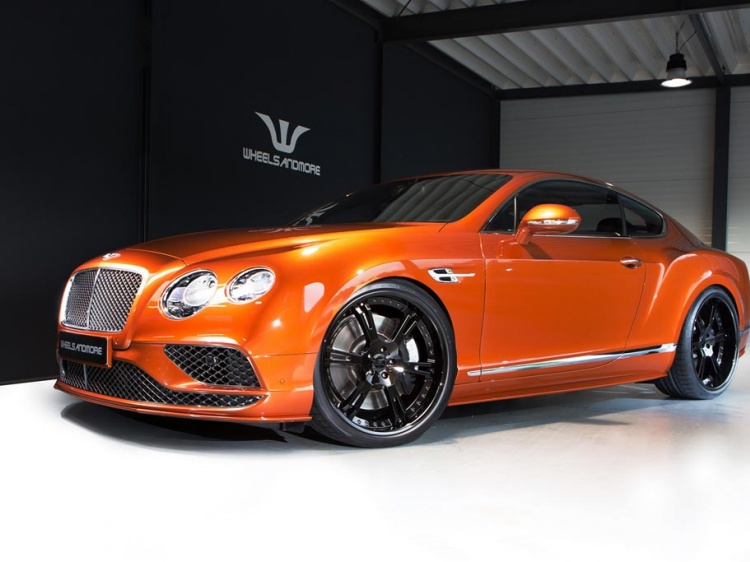 В Wheelsandmore подготовили тюнинг Bentley Continental GT Speed