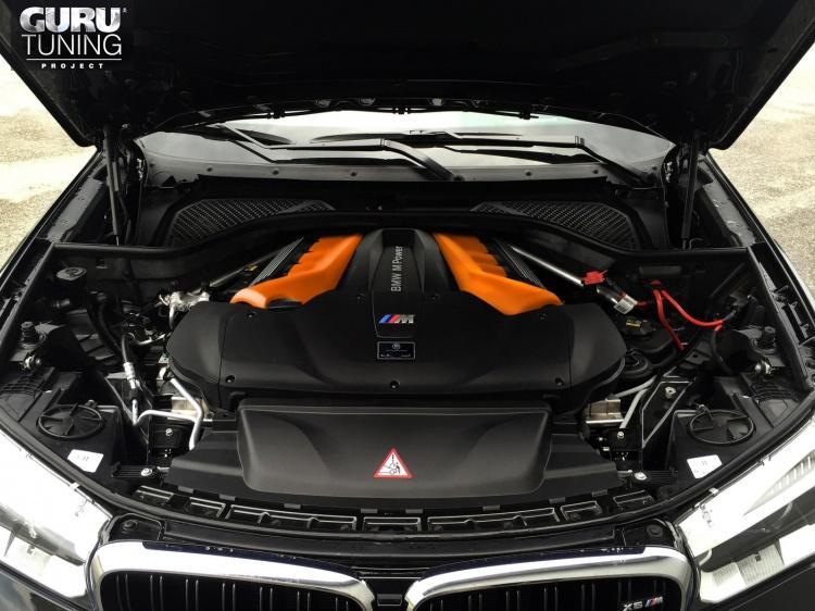 Увеличение мощности от G-Power для BMW X6M F86