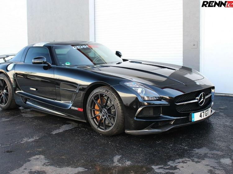 RENNtech добавили мощности Mercedes-Benz SLS AMG Black Series