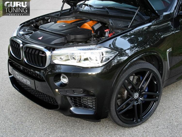 Увеличение мощности от G-Power для BMW X5M F85