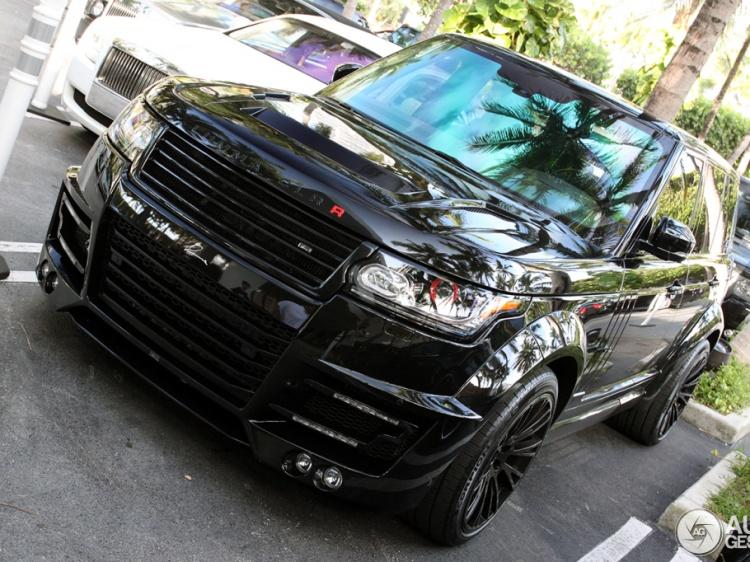 Тюнинг-пакет для Range Rover 2013 от тюнинг-ателье Lumma
