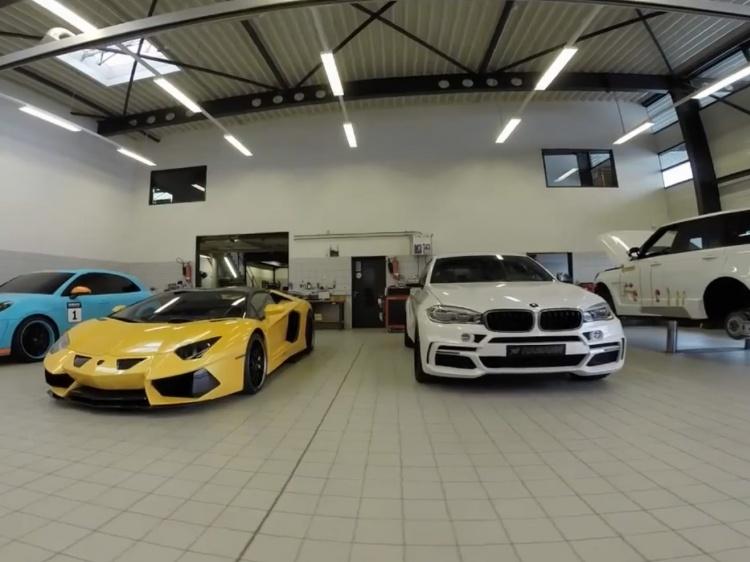 HAMANN Preview Geneva international Motor Show 2015