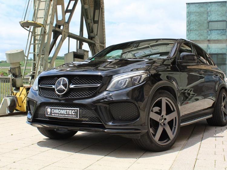 Тюнинг Mercedes GLE 350 d Coupe от Chromatec