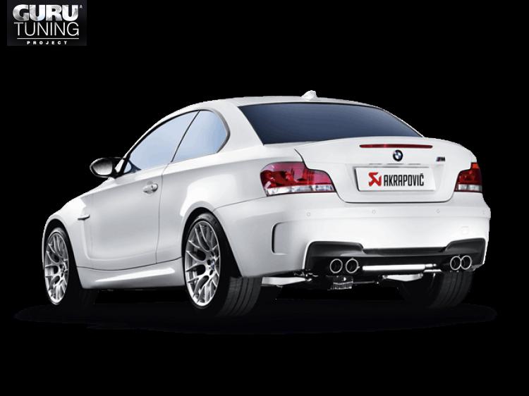 Выхлопная система Akrapovic для BMW 1 Series M Coup? (E82) 2012