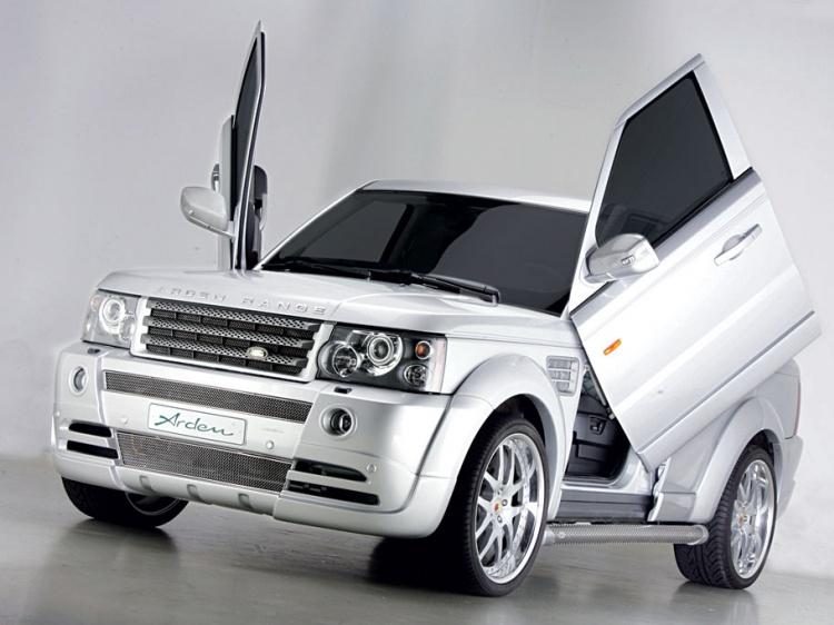 Тюнер Arden представил финальный тюнинг для Range Rover Sport