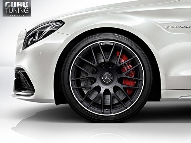 Диски AMG для Mercedes C class W205 Coupe с крестообразными спицами