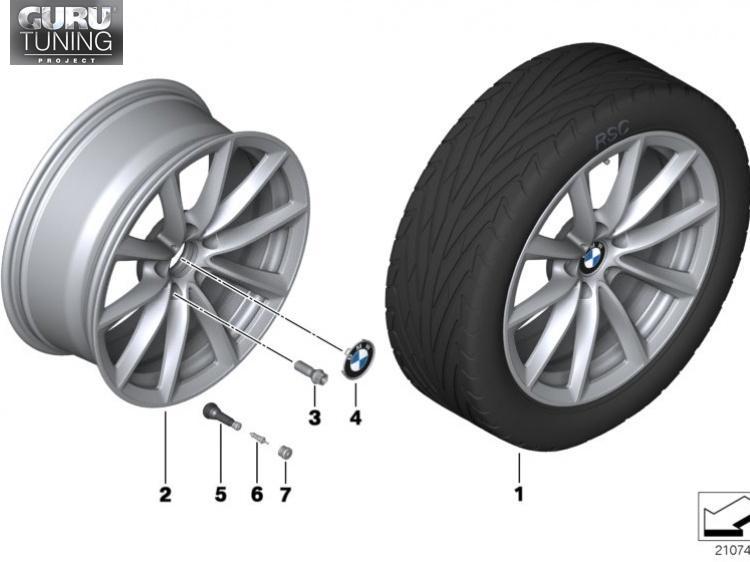 Диски BMW дизайн 324 для BMW X1 E84