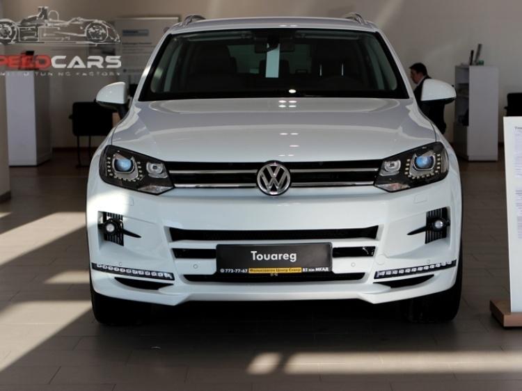 Teamaerodynamics на Touareg Volkswagen 2010-2012