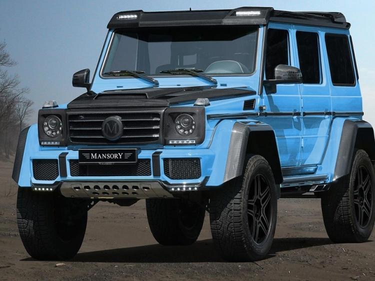 Mansory с тюнингом Mercedes-Benz G500 4?4