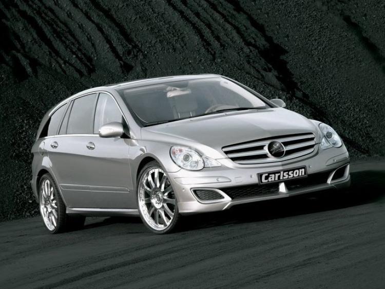 Выхлопная система Carlsson для Mercedes R-Class (W251)
