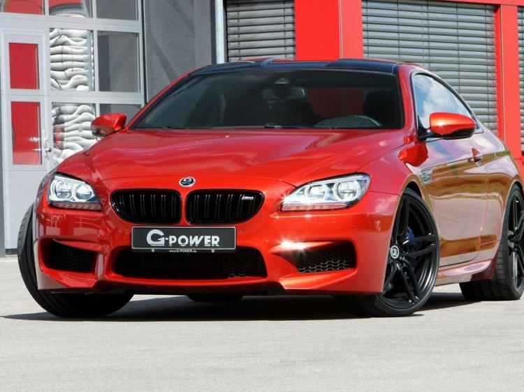 G-Power с новой работой по тюнингу BMW M6 Coupe (F13)