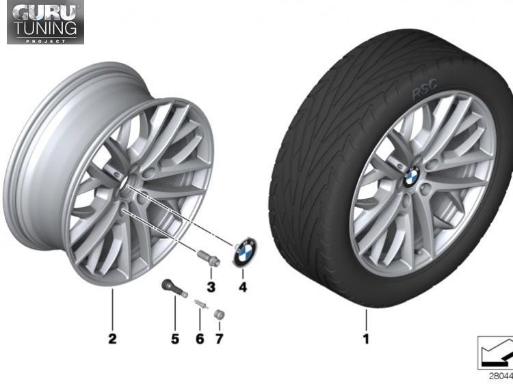 Диски BMW дизайн 465 для BMW X1 E84