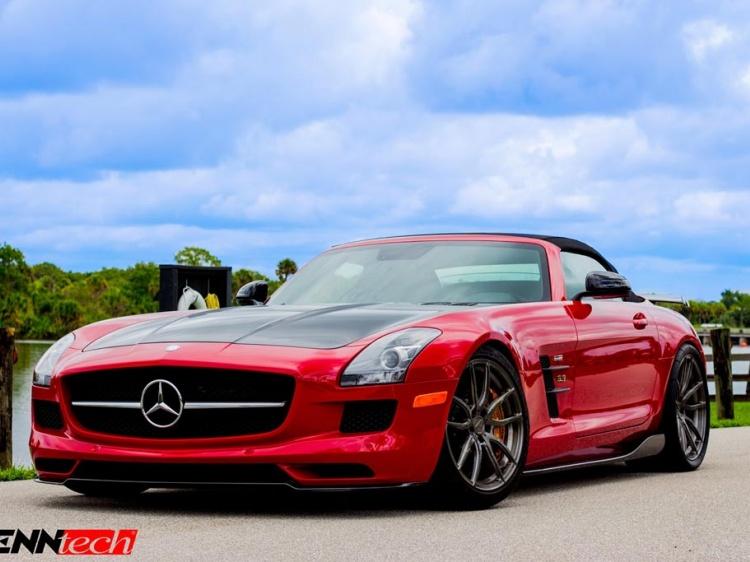 Тюнинг от Renntech для Mercedes SLS AMG Final Edition