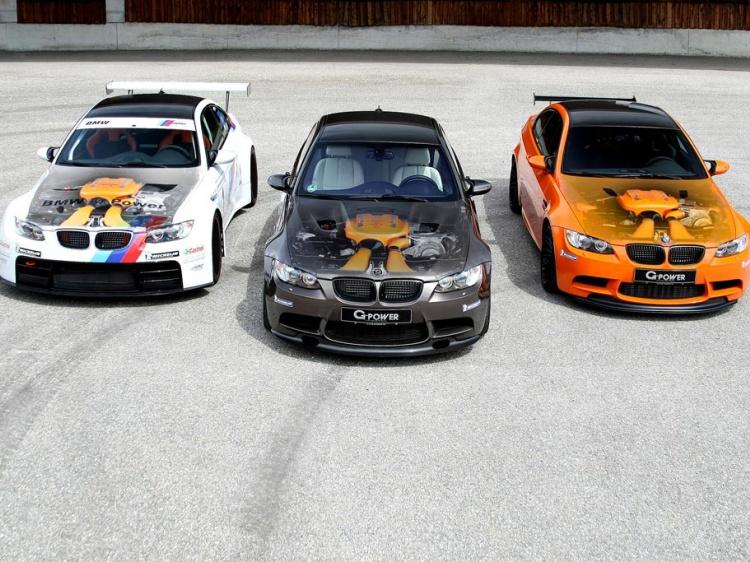 BMW M3 (E92) с тюнингом от G-Power сильнее Huracan