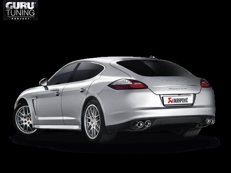Выхлопная система Akrapovic для Porsche Panamera Turbo (970) 2013