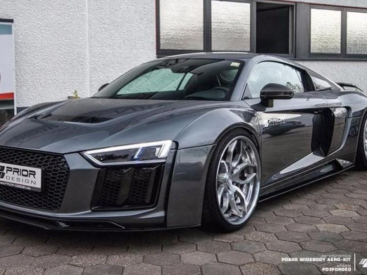 Audi R8 II получил аэродинамику от Prior Design