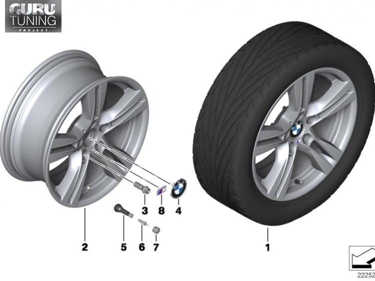 Диски BMW дизайн 355 для BMW X1 E84