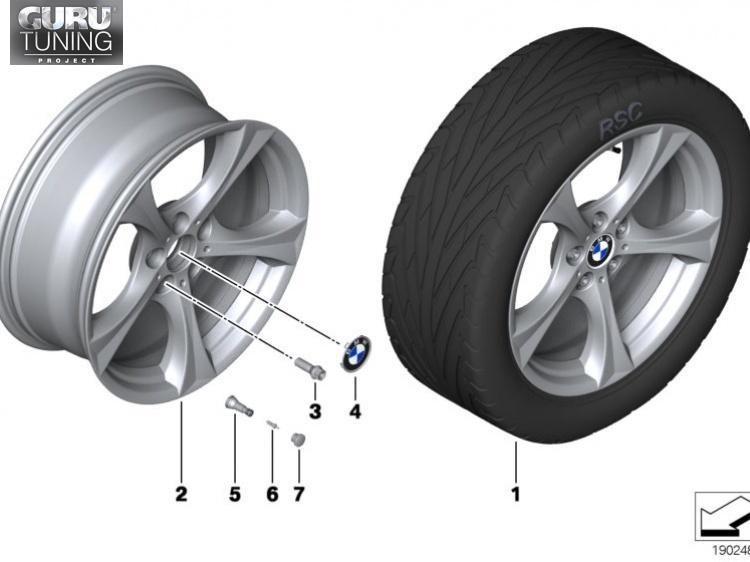 Диски BMW дизайн 276 для BMW Z4 E89