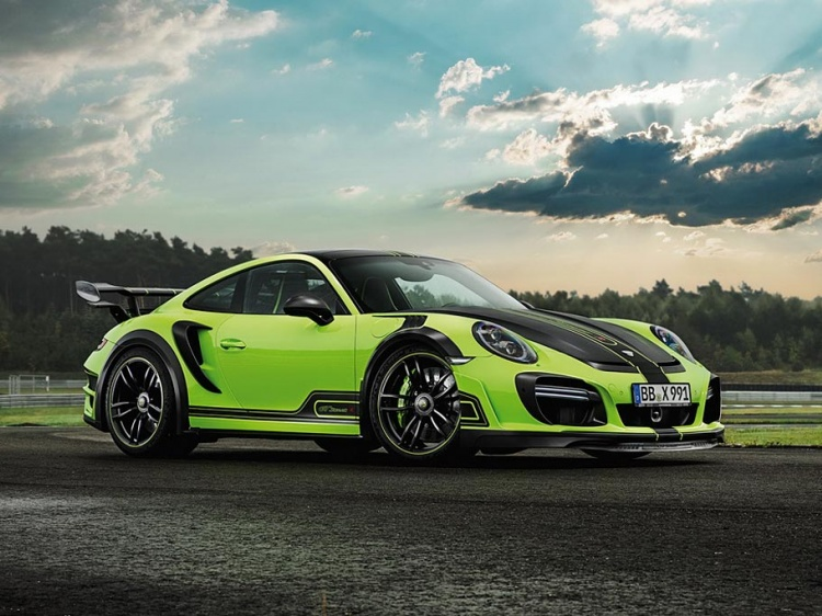 В TechArt  представили Porsche 911 Turbo GTstreet R