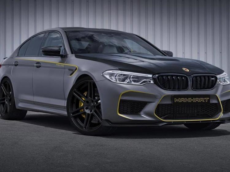 В Manhart создадут BMW M5 (F90) с 800 л.с.