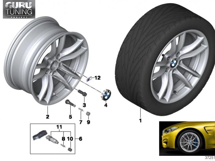 Диски BMW дизайн 640M для BMW 2-series F22