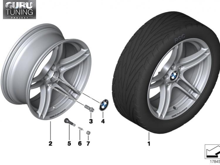 Диски BMW M дизайн 313 для BMW 1-series (E82/E88)