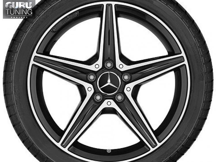 Диски AMG для Mercedes C class W205 Coupe с 5 спицами