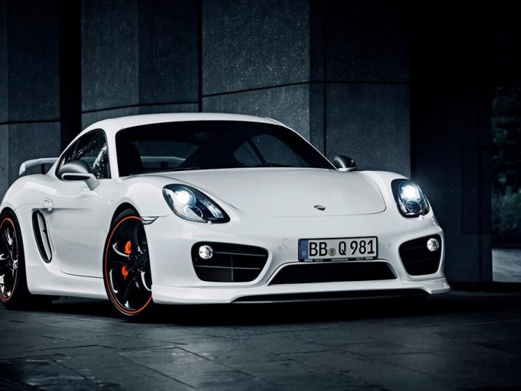 Компания TechArt создала обвес для Porsche Cayman (981)