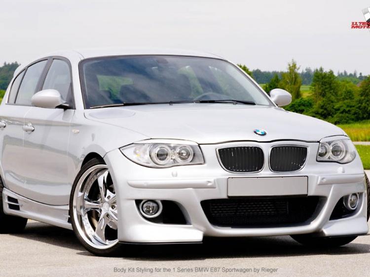 Rieger для BMW 1-series E87