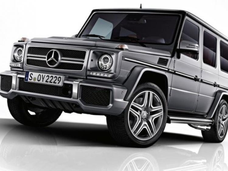 Диски и шины на Mercedes G-Class