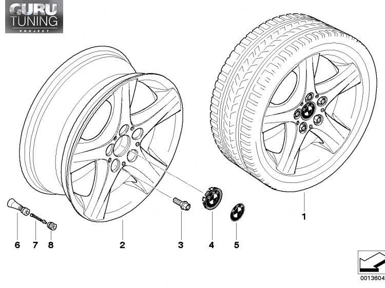 Диски BMW  дизайн 142 для BMW 1-series (E82/E88)