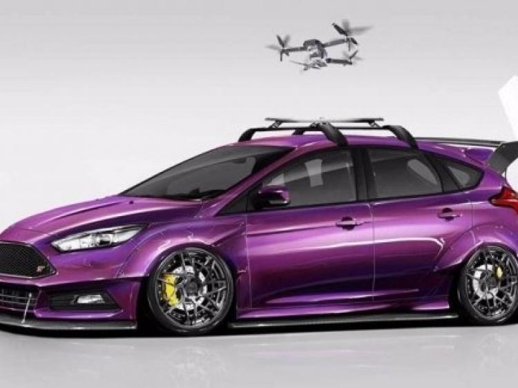 Ford подготовил для SEMA ряд проектов тюнинга Focus