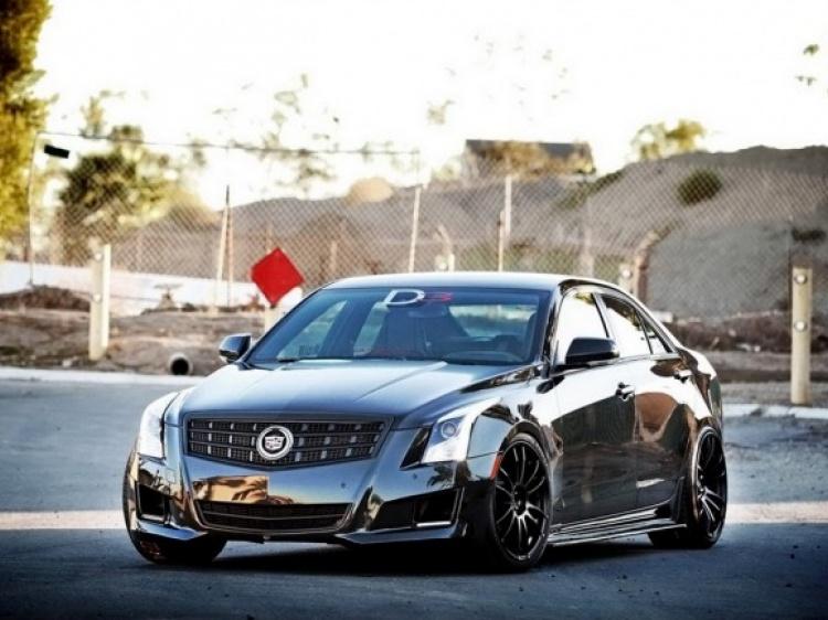 Ателье D3 Group сделало тюнинг нового Cadillac ATS