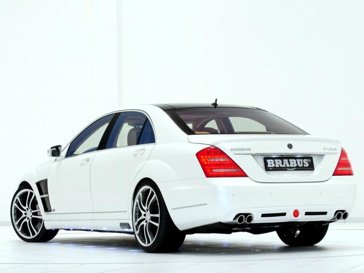 Выхлоп BRABUS для Mercedes-Benz S класса W 221