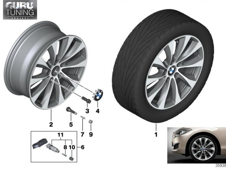 Диски BMW дизайн 387 для BMW 2-series F23