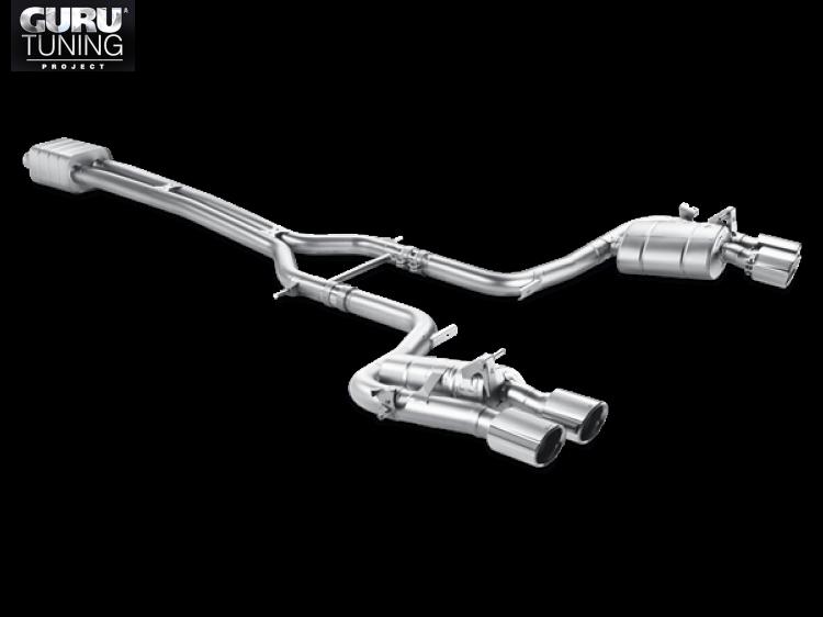 Выхлопная система Akrapovic для Porsche Panamera Turbo S (970) 2013