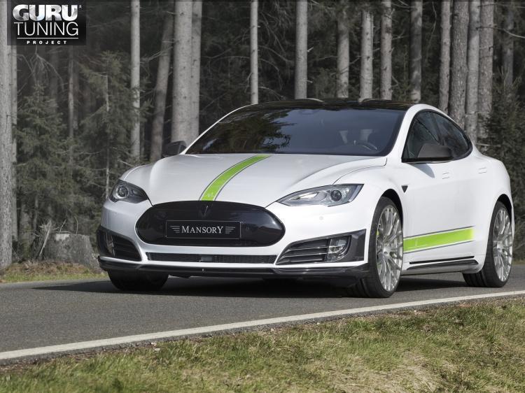Mansory для Tesla Model S