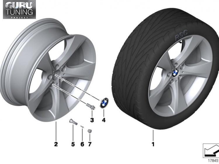 Диски BMW дизайн 311 для BMW X1 E84