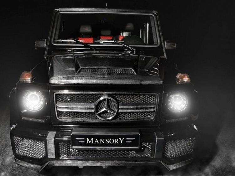 Юбка MANSORY для G63 (карбон)