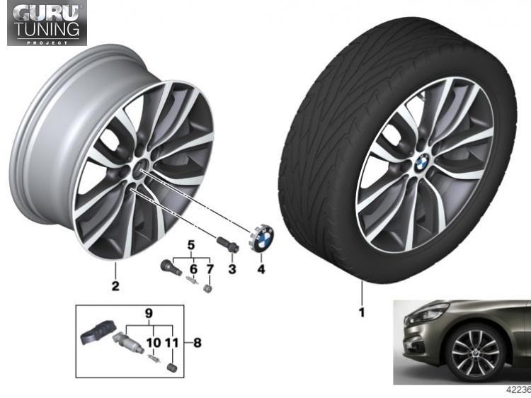 Диски BMW дизайн 485 для BMW 2-series Active Tourer F46