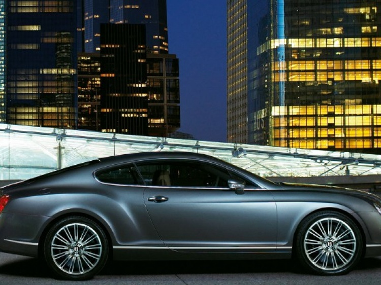 Диски и шины на Bentley Continental GT