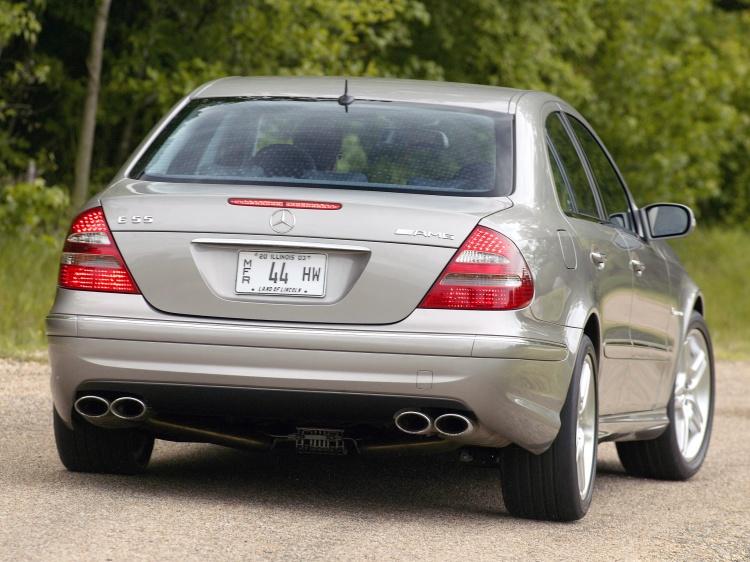Выхлоп AMG для Mercedes-Benz E класса W211