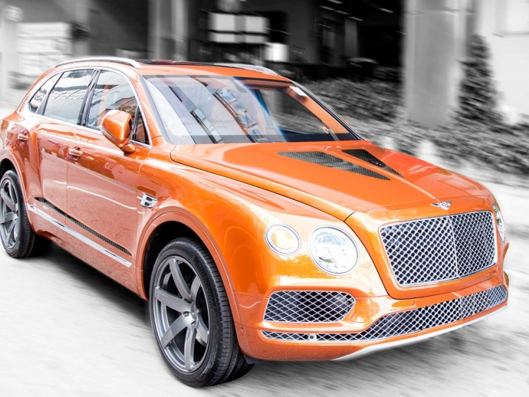 В DMC создали Bentley Bentayga Gigante