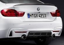 Карбоновый диффузор M Performance для BMW F32 4-серия