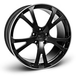 диски TECHART Formula III individual color match (single color) matt black