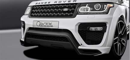 передний бампер caractere для range rover