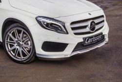 Передний спойлер Carllson для Mercedes gla
