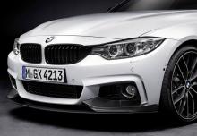 Карбоновый сплиттер M Performance для BMW F32 4-серия