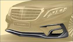 Передний бампер S63 AMG Mansory для Mercedes S222